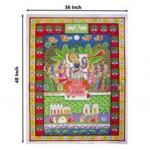Pichwai Painting of Shreenathji Darshan Radha Krishna Wall   Etsy