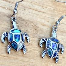 Abalone Earrings Women Jewelry  Sea Turtle Earrings Women | Etsy