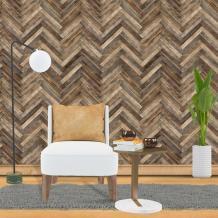 Herringbone Shiplap Chevron Wallpaper Traditional Non woven | Etsy