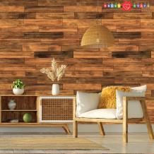 Farmhouse Decor Wood Planks Wallpaper Traditional Non woven | Etsy