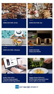 American Express present HOME COUTURE|adRuby.com