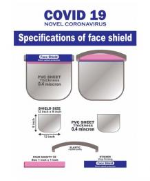 Buy Covid 19 Face Shield Online | Anti Pollution Masks - Tabletshablet