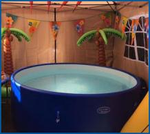 Make a More Exciting Party with Customised Hot Tub