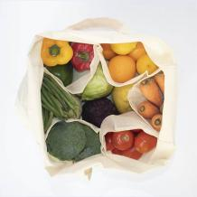 Vegetable Carry Bag | Vegetable Shopping Bag with Compartments