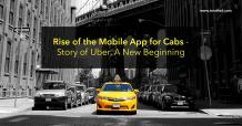 Story of Uber, a taxi app solution