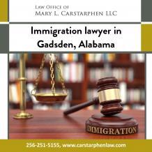 Immigration Lawyer in Gadsden, Alabama