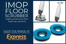 Imop floor scrubber