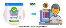 Import purchase orders into QuickBooks