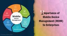 Importance of Mobile Device Management (MDM) to Enterprises