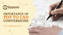 Importance of PDF to CAD Conversions