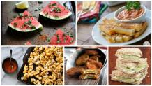 Quick and easy snacks to serve unannounced guests