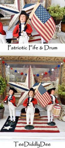 DIY Country Patriotic Décor Blog