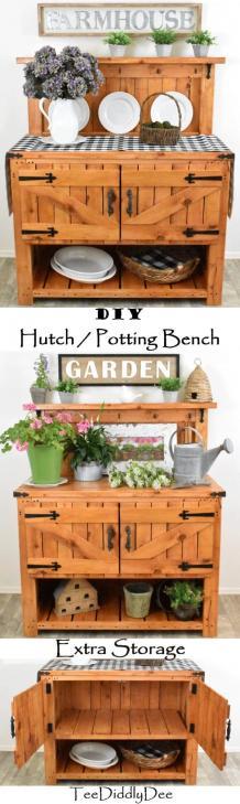 DIY Rustic Furniture Ideas Blog