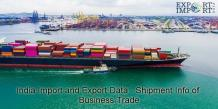India Import and Export Data