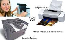 Inkjet vs. Laser: Which Printer is the best choice?