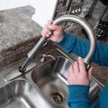 Instruction's to Install a Pull-Down Faucet