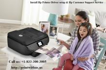 Install Hp Printer Driver setup | Hp Customer Support Service