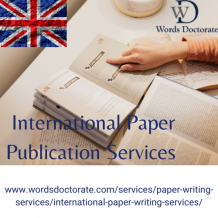 International Journal Paper Writing With Publication Service