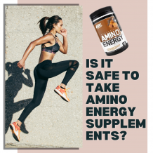 Is it safe to take Amino Energy Supplements?