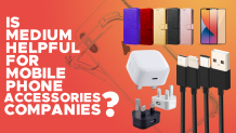 Is Medium helpful for Mobile Phone Accessories Companies?