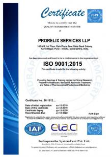 Certificates & Awards - Prorelix Education