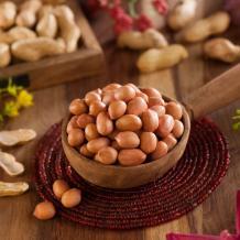 Proveedor de cacahuetes blanqueados