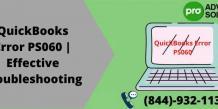QuickBooks Error PS060 | Effective Troubleshooting