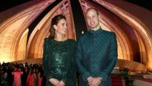 Prince William and Kate Middleton on Pakistan turn Tuk-Tuk Islamabad as she dazzles in £3500 dress