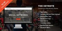 The Keynote - Conference / Event WordPress - scoopbiz.com