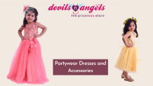 devils n angels - Online Kids Party Wear Store: Children's Clothing Store in Jaipur: Kids Partywear Dresses and Accessories