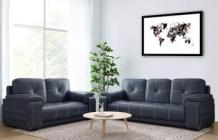 Buy Leather Sofas Online in India at Low Price | Leather Sofa Manufacturer - Furny.in