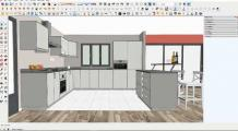 Design Tips for Small Kitchens | SketchUp Tips