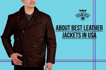 Know About Best Leather Jackets in USA For Man: Franchise Club