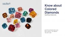 Things you need to know about colored diamonds