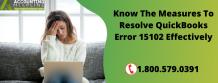 QuickBooks Error 15102
