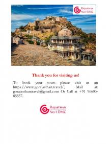 Kumbhalgarh Tour Packages