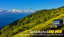 Sandakphu Land Rover Package Booking from Manebhanjan
