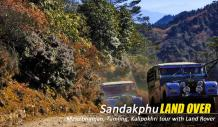 sandakphu land rover tour package cost