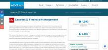 Lawson S3 Financial Management Customers List