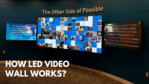 How does LED Video Wall works? | Sunshine | Display Board | Video Wall