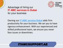 Let us see the list of things that an IT AMC services Dubai covers