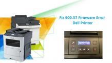 Dell Printer 900.57 Firmware Error