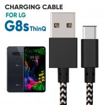 LG G8s ThinQ Braided Charger Cable | Mobile Accessories