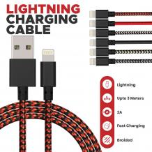 Lightning Braided Cable | Mobile Accessories UK