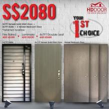 Buy a Mild Steel Gate, Veneer Solid Main Door / Veneer Solid Bedroom Door