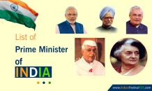 List of Prime Minister of India (1947-2019) in Detail - Indian Festivals