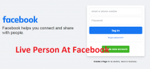 live person at facebook