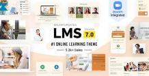 LMS WordPress Theme - scoopbiz.com