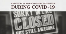 Essential VS Non-Essential Businesses During COVID-19 - World Newsstand