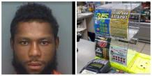 Police arrest Man tries to cash $30 lottery ticket from same store he stole it from - KokoLevel Blog